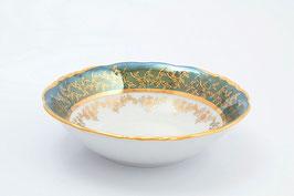 Набор салатников Sterne Porcelan ЛИСТ ЗЕЛЕНЫЙ 16 см