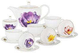 Чайный сервиз Emily FLOWERS на 6 персон 14 предметов