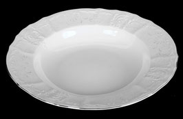 Набор глубоких тарелок Bernadotte Платиновый Ободок 23 см