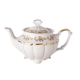 Чайник заварочный МАРИЯ ТЕРЕЗА БЕЛАЯ Bavarian Porcelain 1100 мл
