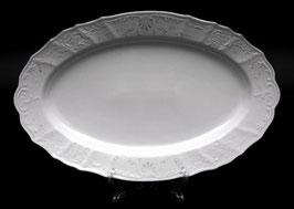 Блюдо овальное Bernadotte Платиновый Ободок 39 см