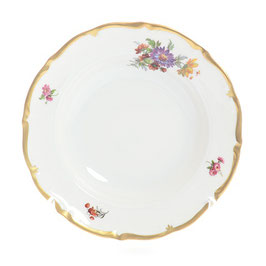 Набор глубоких тарелок Queens Crown МЕЙСЕНСКИЙ БУКЕТ 23 см