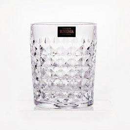 Набор стаканов  для виски ДИАМАНД Bohemia Crystal 230 мл