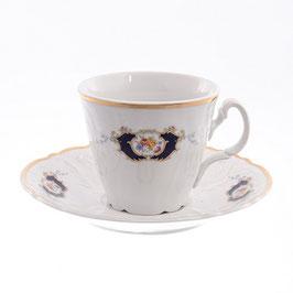 Набор для чая СИНИЙ ГЛАЗ Bernadotte на 6 персон 12 предметов