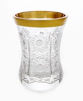 АРМУДА набор хрустальных стаканов для чая Bohemia Cristal СНЕЖИНКА ФЕЛИЦИЯ 170 мл