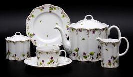 Немецкий чайный сервиз Rosenthal МОНБИЖУ на 6 персон 15 предметов ( артикул МН 4944 В )