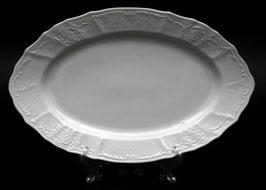 Блюдо овальное Bernadotte Платиновый Ободок 34 см
