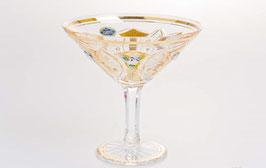 Набор бокалов для мартини Bohemia Crystal ХРУСТАЛЬ С ЗОЛОТОМ 200 мл