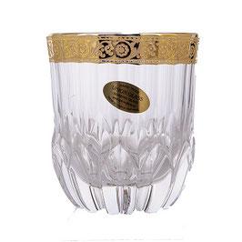Набор стаканов для виски Union Glass АДАЖИО ЗОЛОТО 350 мл