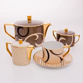 Немецкий чайный сервиз Rosenthal ШАХЕРЕЗАДА на 6 персон 15 предметов ( артикул МН 22355 В )
