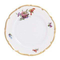 Набор закусочных тарелок Queens Crown МЕЙСЕНСКИЙ БУКЕТ 21 см