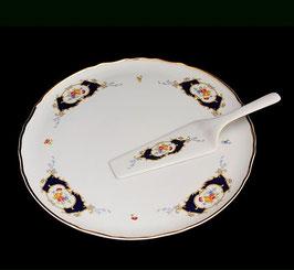 Набор для торта Bernadotte СИНИЙ ГЛАЗ 2 предмета