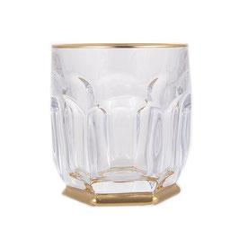 Набор стаканов для виски Bohemia Crystal САФАРИ ЗОЛОТО 250 мл