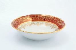 Набор салатников Sterne Porcelan ЛИСТ КРАСНЫЙ 16 см
