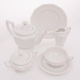 Немецкий чайный червиз Rosenthal ВЕЙС МАРИЯ на 6 персон 21 предмет ( артикул МН 19475 В )
