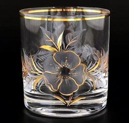 Набор стаканов для виски АЛЕКСАНДРА ЦВЕТОК Bohemia Crystal 280 мл