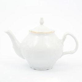 Чайник заварочный Bernadotte  ЗОЛОТОЙ ОБОДОК 700 мл