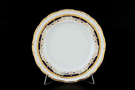 Набор закусочных тарелок Thun СИНИЙ УЗОР 19 см