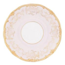 Блюдце Weimar ЮВЕЛ Розовый 17 см ( артикул МН 55749 В )