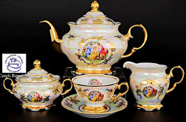 Чайный сервиз Carlsbad Jeremy МАДОННА на 6 персон 15 предметов