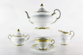 Немецкий чайный сервиз Weimar ПРЕСТИЖ на 6 персон 21 предмет ( артикул МН 3715 В )