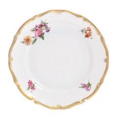 Набор десертных тарелок Queens Crown МЕЙСЕНСКИЙ БУКЕТ 17 см