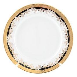 Набор закусочных тарелок Thun ЧЕРНАЯ ЛИЛИЯ 21 см