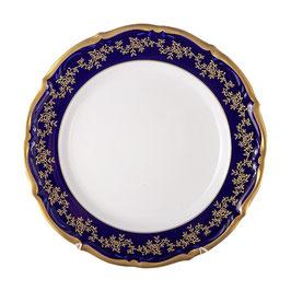 Набор подстановочных тарелок МАРИЯ ТЕРЕЗА СИНЯЯ Bavarian Porcelain 25 см