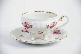 Набор для чая Weimar РОЗА Розовая ШАТО на 6 персон 12 предметов ( артикул МН 32139 В )