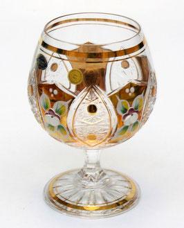 ХРУСТАЛЬ С ЗОЛОТОМ набор бокалов для бренди 300 мл