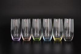 Набор стаканов для виски АРЛЕКИНО КАЛОРС Bohemia Crystal 350 мл