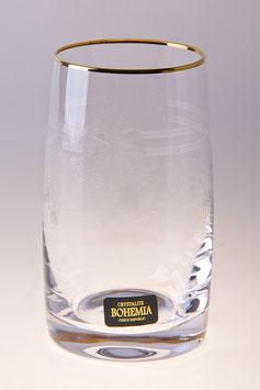 Набор стаканов КЛАУДИЯ Bohemia Crystal 250 мл