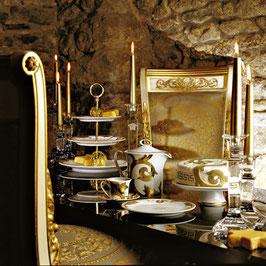 Немецкий чайный червиз Roshental АРАБЕСКИ ГОЛД на 6 персон 21 предмет ( артикул МН 11235 В )