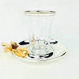 АРМУДА набор для чая с ручкой Select ЦВЕТОК на 6 персон 12 предметов