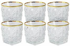 Набор хрустальных стаканов для виски Same ЭНИГМА 300 мл