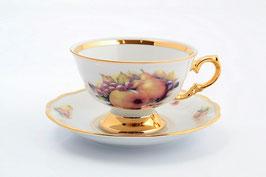 Набор для чая Sterne Porcelan ФРУКТЫ на 6 персон 12 предметов