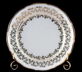 Набор подстановочных тарелок Bavaria ЛИСТ БЕЛЫЙ 24 см