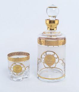 Набор для виски Bohemia Crystal ВЕРСАЧЕ ФОН ТРИО 7 предметов
