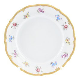 Набор подстановочных тарелок Queens Crown МЕЙСЕНСКИЙ ЦВЕТОК 25 см
