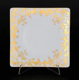 Набор закусочных тарелок Falkenporzellan TOSCA WHITE GOLD 21 см