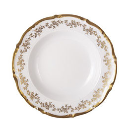 Набор глубоких тарелок МАРИЯ ТЕРЕЗА БЕЛАЯ Bavarian Porcelain 23 см