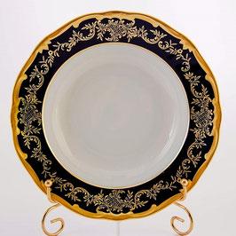 Набор глубоких тарелок Weimar ЮВЕЛ СИНИЙ 22 см ( артикул МН 23822 В )