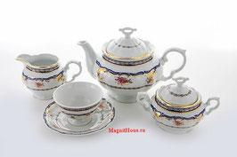 Чайный сервиз Thun Констанция Вензель на 6 персон 15 предметов