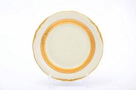 Набор закусочных тарелок Sterne Porcelan МАТОВАЯ ПОЛОСА Ивори 21 см