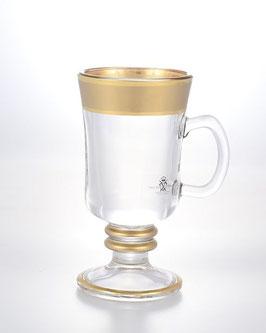 Набор кружек для глинтвейна КЛАУДИЯ МАТОВАЯ Bohemia Crystal 230 мл