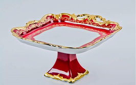 Блюдо квадратное Weimar ЮВЕЛ Красный 30 см ( артикул МН 17715 В )