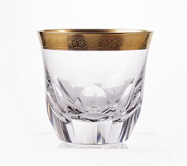 Набор стаканов для виски ДЖЕССИ ЗОЛОТОЙ ОБОДОК Kvetna 290 мл