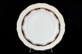 Набор подстановочных тарелок Thun СИНИЙ УЗОР 27 см
