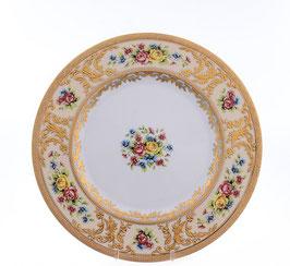 Набор закусочных тарелок Falkenporzellan VIENNA CREME GOLD 21 см