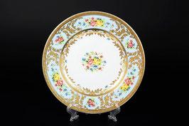 Набор закусочных тарелок Falkenporzellan VIENNA BLUE GOLD 21 см